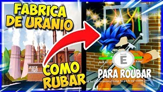 """COMO ROUBAR O """"URÂNIO"""" DA NOVA USINA NUCLEAR NO JAILBREAK! - ROBLOX"""