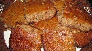 Gluten Free, Low Glycemic Banana Walnut Bread Recipe!