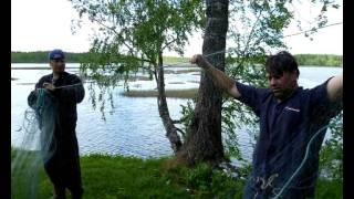 Поход река Оредеж лето 2011