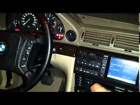 BMW 7.50iL Panic start with engine security code ( e38 , m73 )