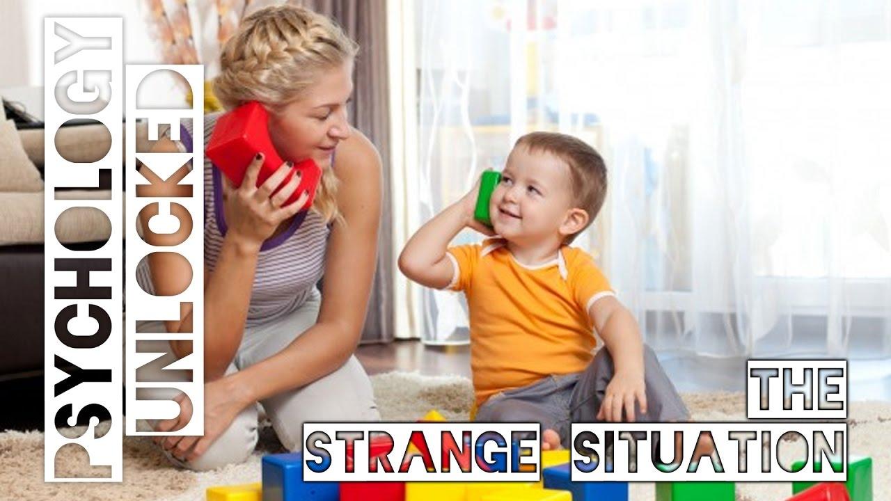 strange situation test psychology