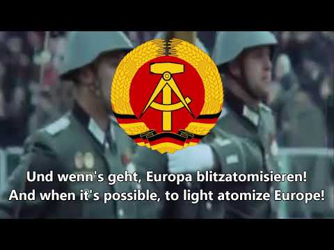 """""""Wenn Die Soldaten"""" (East German Version) - East German Communist Song"""