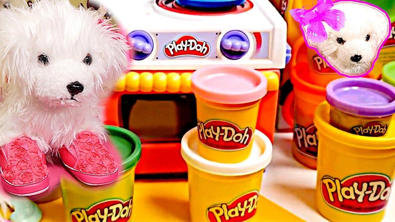 Plastilina play doh como mam juegos de cocina chloe y la beb annabell cap tulos - Cocina play doh ...