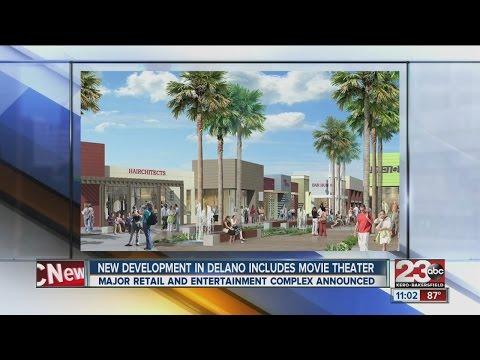 New Development In Delano Includes Movie Theater