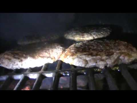 Winter Life Hack - Wood Grilling Burgers Inside Kitchen - Wood Stove\Oil Burner