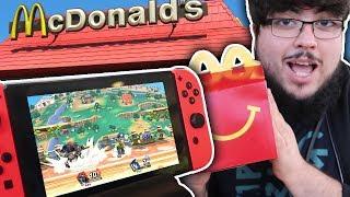 ACTUALLY Playing Smash Bros On McDonald's Wifi