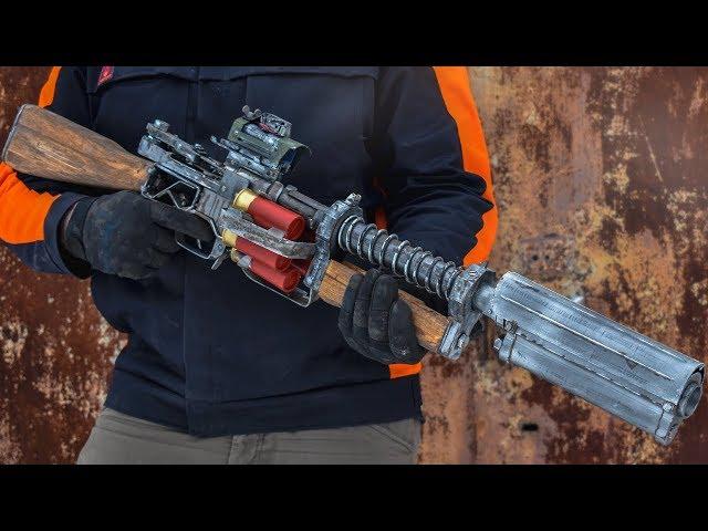 SHAMBLER SHOT GUN FROM METRO EXODUS HOW TO MAKE DIY