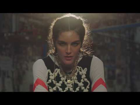 Hilary Rhoda Boxing in High Fashion for Harpers Bazaar Turkey January 2017 issue