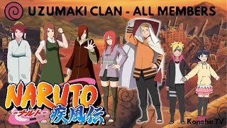 The Uzumaki Clan - All Known Members and Jutsu