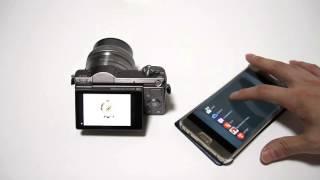 소니 미러리스 A5100  리모트앱 활용