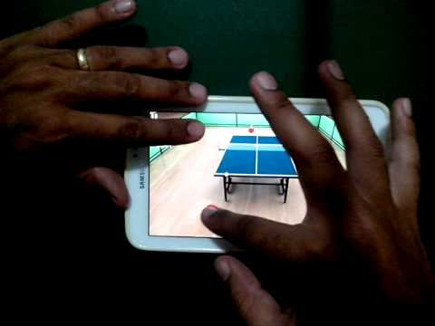 Tutorial/game play-Virtual Table Tenis-Android iOS