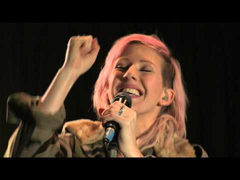 Ellie Goulding performs Anything Could Happen in the Live Lounge