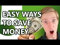 5 EASY WAYS YOU CAN SAVE MONEY EVERY DAY!