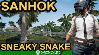 GHILLIE ON SANHOK! / PUBG Xbox One X