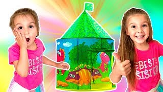 Surprise Castle tent - Video for kids - Magic is everywhere
