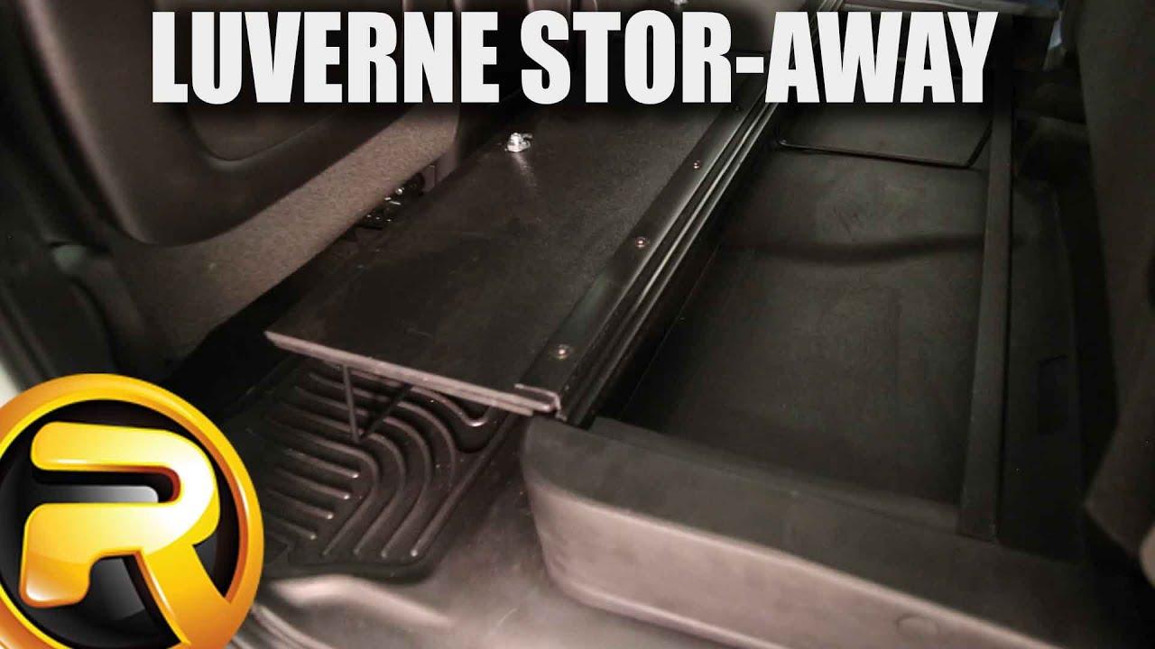 F150 Under Seat Storage >> How to Install Stor-Away Under Seat Storage - YouTube