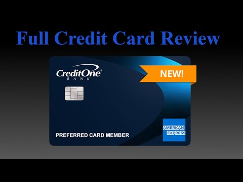 Credit Card Review | Credit One American Express Card