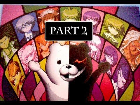 Danganronpa Playthrough Part 2 | Prologue Part 1 [English Translation Patch]