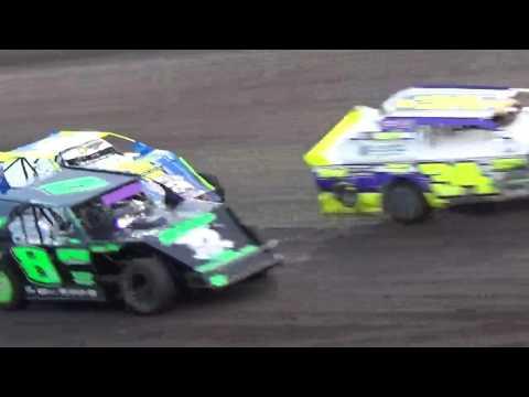 IMCA Sportmod Heat 4 Boone Speedway Boone Iowa 8/20/16