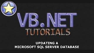 VB.NET Tutorial - UPDATE A SQL Server Database - Part 3