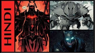 Top 10 Batarmors And Batsuits | Explained in HINDI | All Batman Armors And Suits