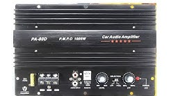 PA-80D 1000W Amplifier Unboxing (12V 1000W Mono Car Audio Power Amplifier) BEST BUDGET CAR AMPLIFIER