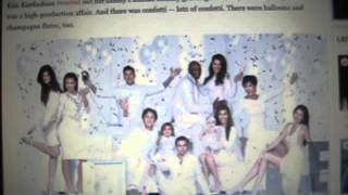 2012 Kardashian Christmas Card: Did Kanye West Make the Cut?