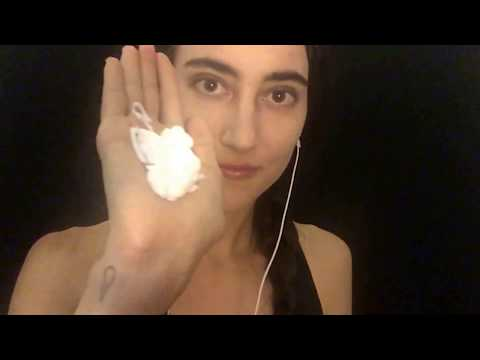ASMR Sloppy hand lotion! Tingly, squishy, sloppy sounds, with and without gloves