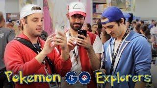 POKEMON GO EXPLORERS - Comic Con Adventure!