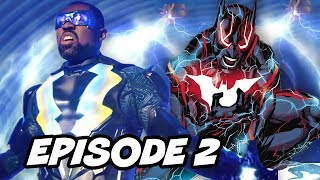 Black Lightning Episode 2 Easter Eggs and Batman Beyond Theory