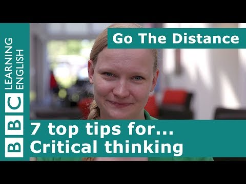 Academic Insights – 7 top tips for... critical thinking