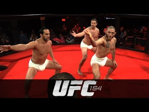UFC 154: Sumo Workout with Tom Lawlor