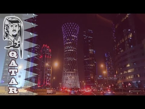 Doha's Skyscrapers and Tallest Buildings (Qatar Day and Nigh