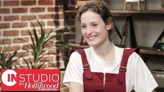 In Studio With 'Phantom Thread's' Vicky Krieps: Daniel Day Lewis, Paul Thomas Anderson & More! | THR