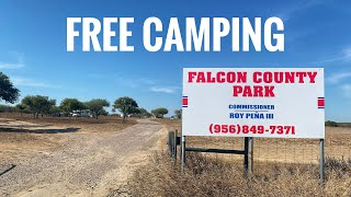 Free Camping in Teאas at Falcon County Park