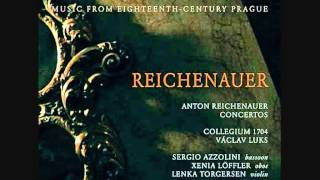 Antonín Reichenauer Concerto for Oboe Bassoon Strings in B flat major