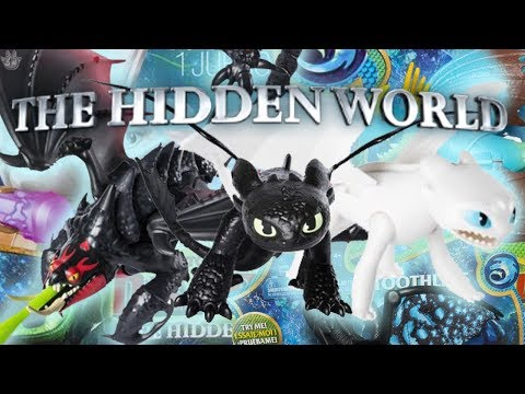 NEW HIDDEN WORLD TOYS! How to train your Dragon: The Hidden World
