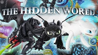 HOW TO TRAIN YOUR DRAGON The Hidden World TOOTHLESS Deluxe Figure BRAND NEW