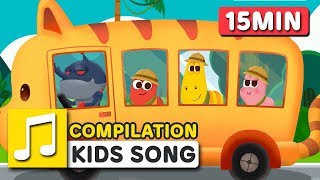 Let's go to ZOO and OTHER SONGS | COMPILATION | LARVA KIDS