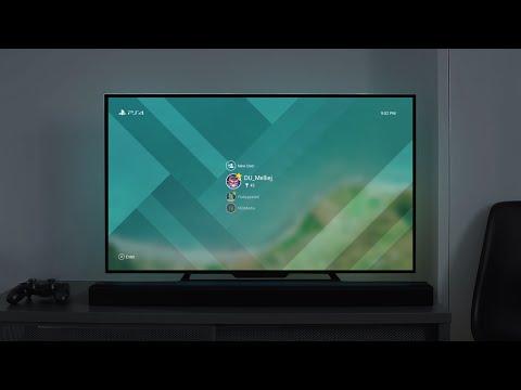 Playstation 4 - Material Design [60 FPS]
