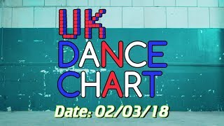UK TOP 40 DANCE SINGLES CHART 02 03 2018
