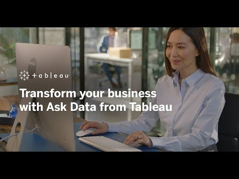 What is Ask Data?   A Tableau Ask Data Overview