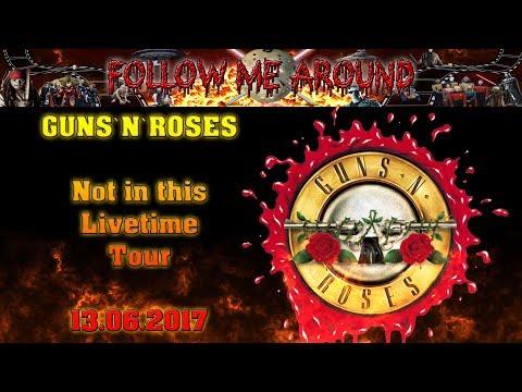 Guns`N`Roses – Live in München – 13.06.2017 – Konzertbericht