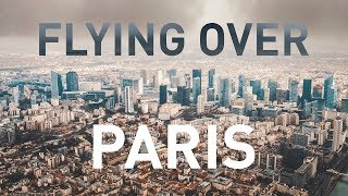Flying over Paris