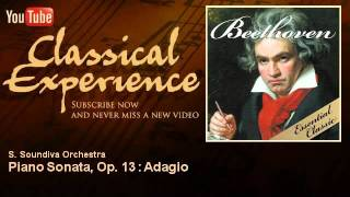 Ludwing Van Beethoven : Piano Sonata, Op. 13 : Adagio - ClassicalExperience