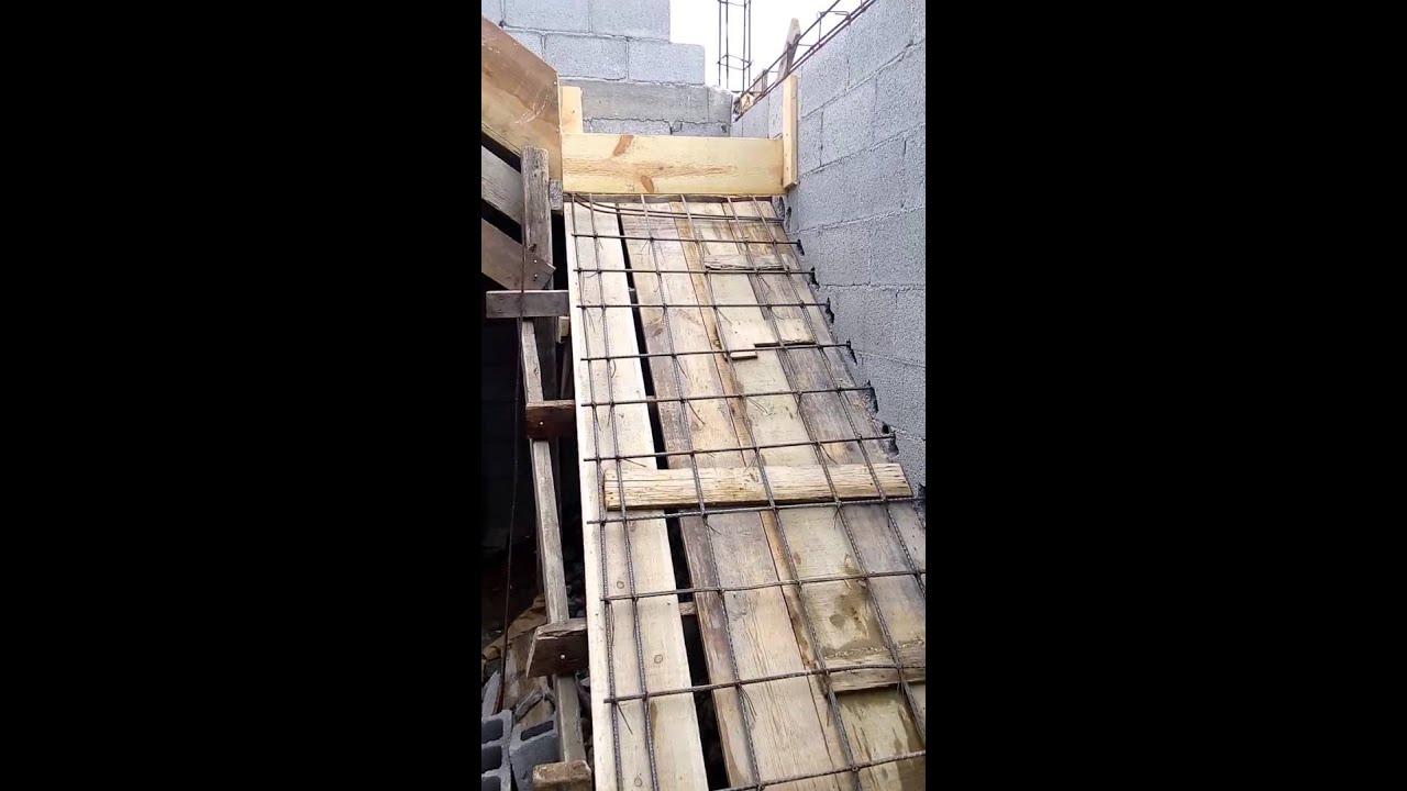 Escalera de concreto parte 1 youtube for Como se construye una piscina de concreto