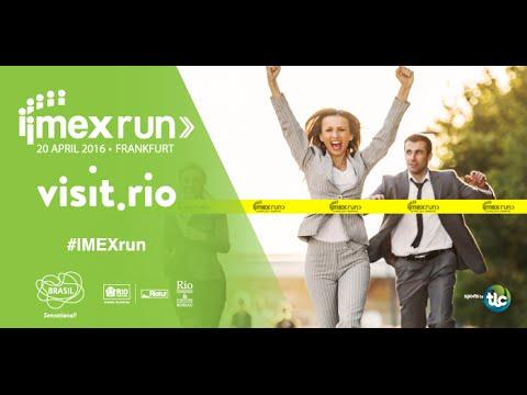 IMEXrun @ IMEX FRANKFURT 2016 - 5km Morning Run Compilation | Visit.Rio