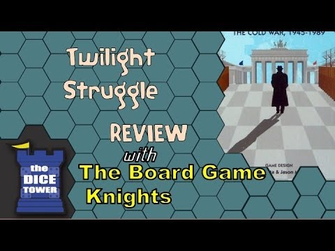 Twilight Struggle Review With The Board Game Knights