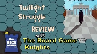 Twilight Struggle Review - with the Board Game Knights