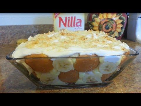 No Bake Banana Pudding Recipe